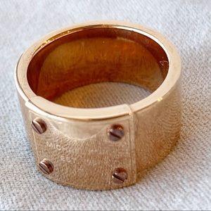 Michael Kors Rose Gold Ring Size 7
